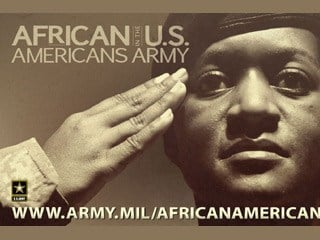 © There are 2.4 million black military veterans in the United States in 2010 (US Army)