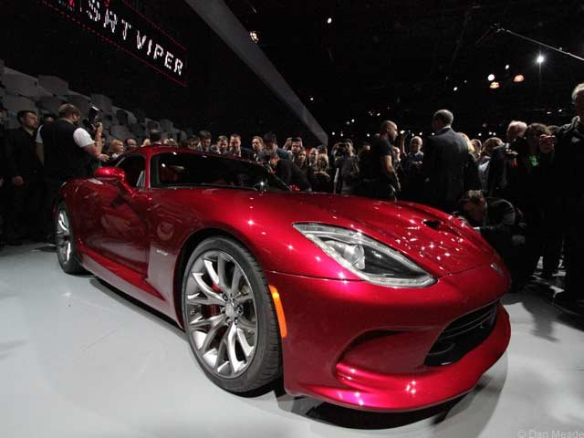 The 2013 SRT Viper (photos © Dan Meade)